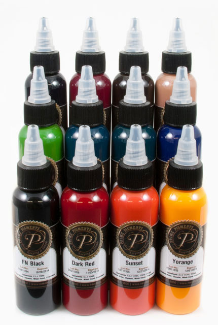 Prime Pigments 12 colors Dark set