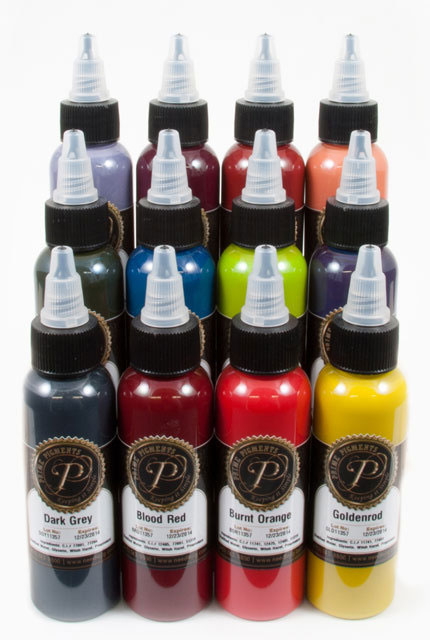 Prime Pigments 12 color Dirty set